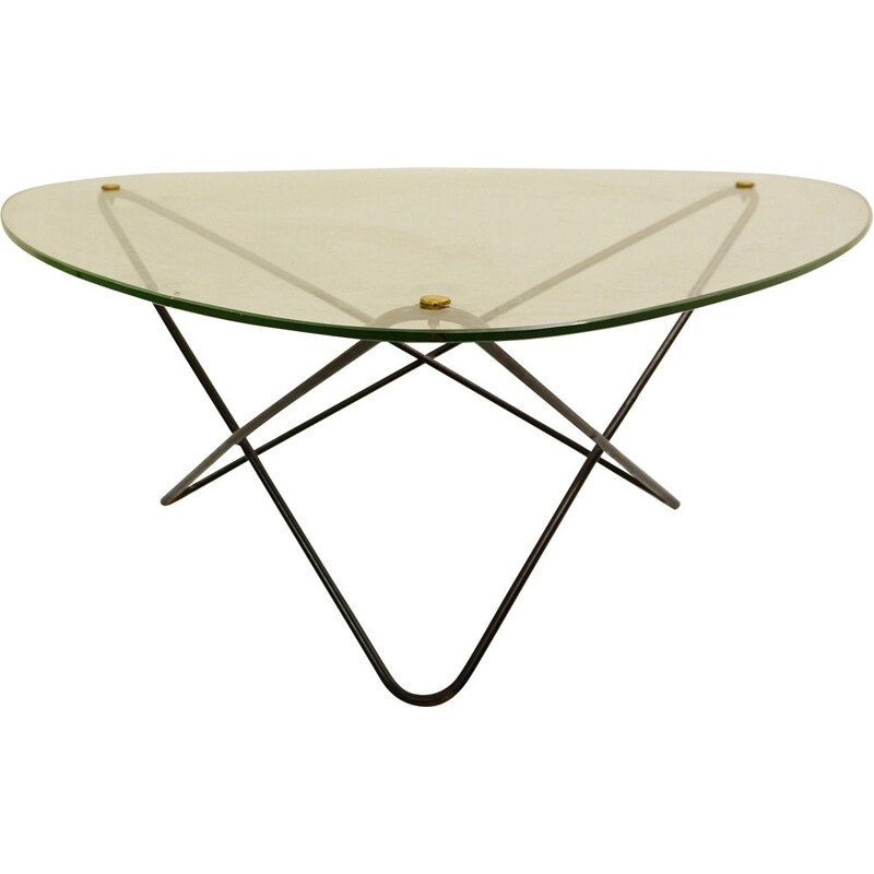 "Vintage table ""Jasmine"" by Jacques Tournus for Airborne, 1954s"