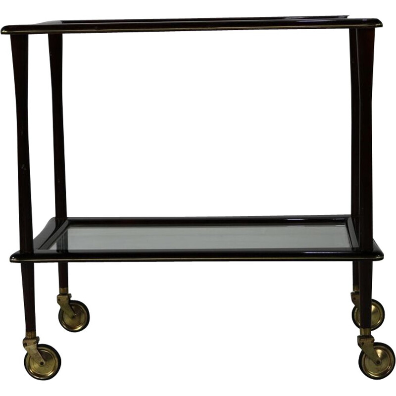 Vintage tea trolley by Ico Parisi from Angelo De Baggis, Italy