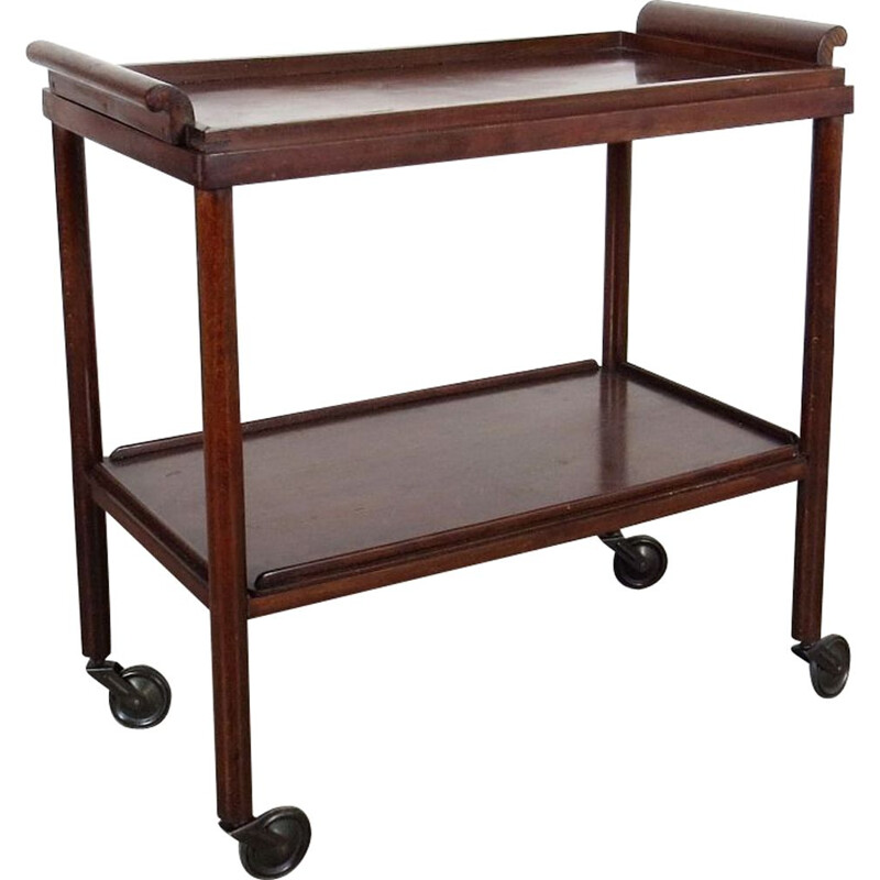 Serving trolley, produced by Thonet during the 1930s