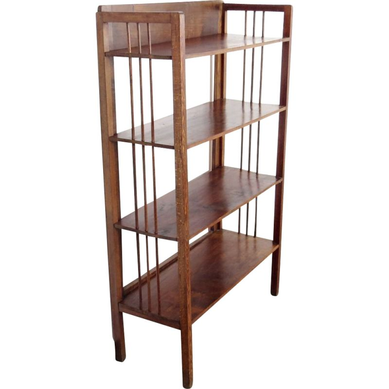 Vintage Wooden Shelves by Thonet 1930s