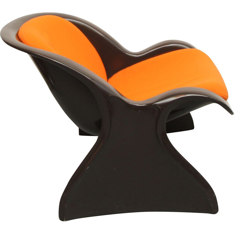 "Vintage ""Spring"" chair by Peter Ghyczy 1970"