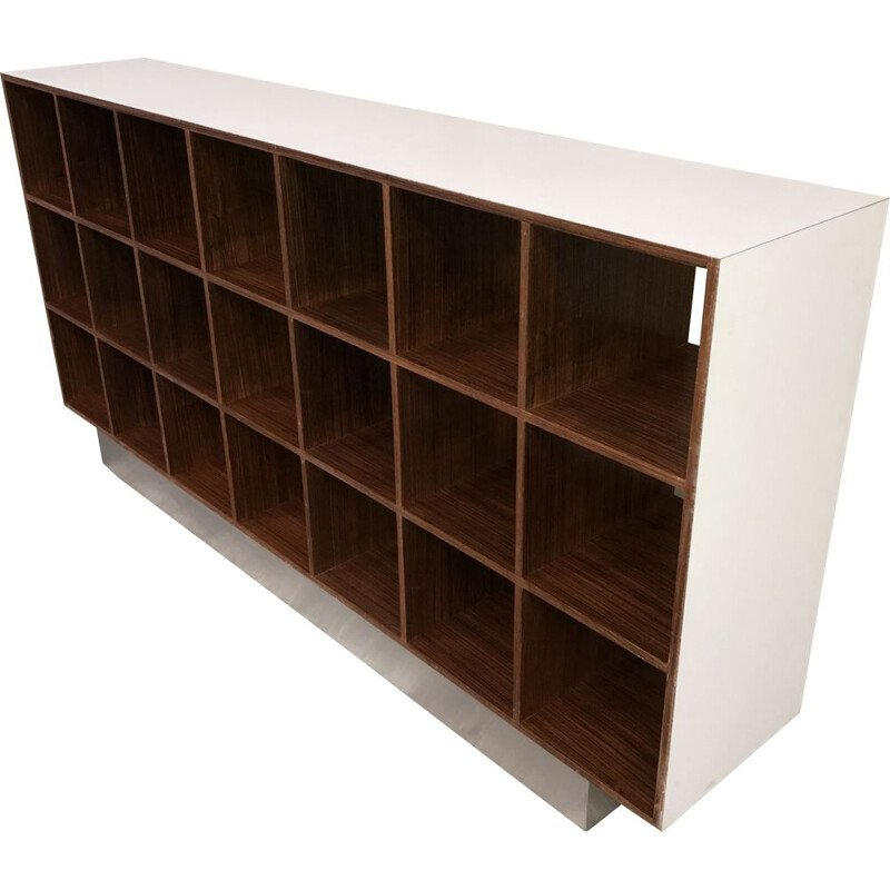 Vintage Rosewood bookcase  by Joseph-André Motte 1968
