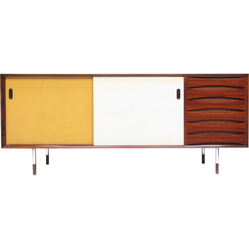 Danish vintage sideboard in rosewood by Arne Vodder, model 29, 1960s