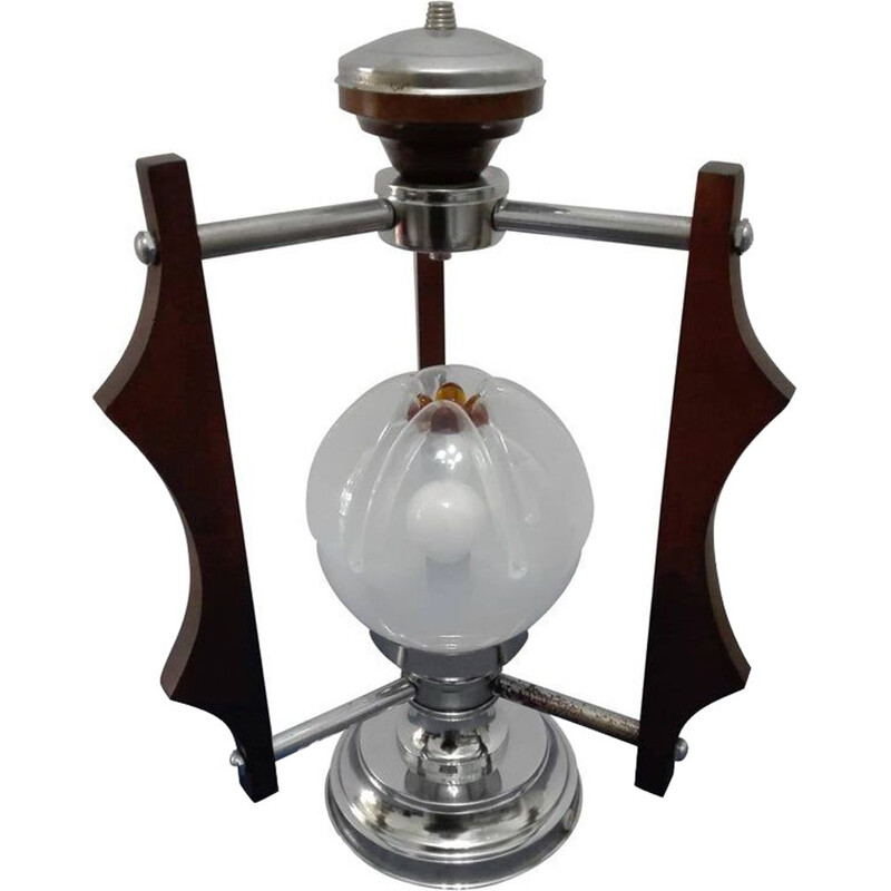 Vintage table lamp by Mazzega, 1970s