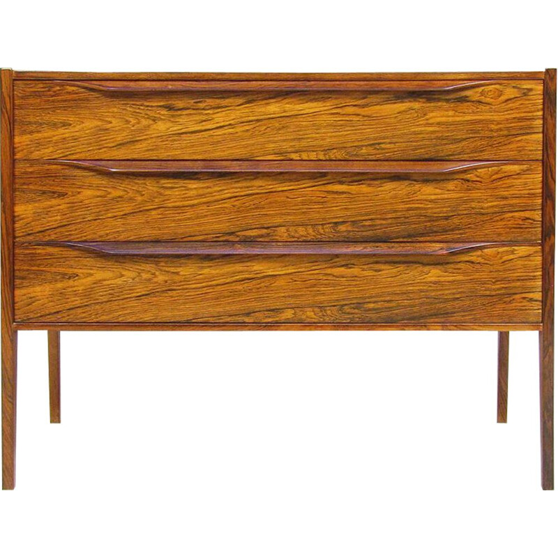 Vintage Chest of drawers in Rosewood By Aksel Kjersgaard for Odder Mobler