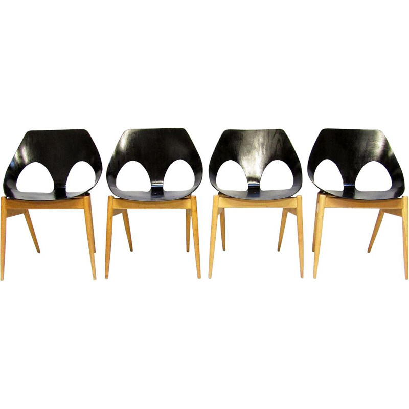Set of 4 Jason Dining Chairs by Carl Jacobs for Kandya