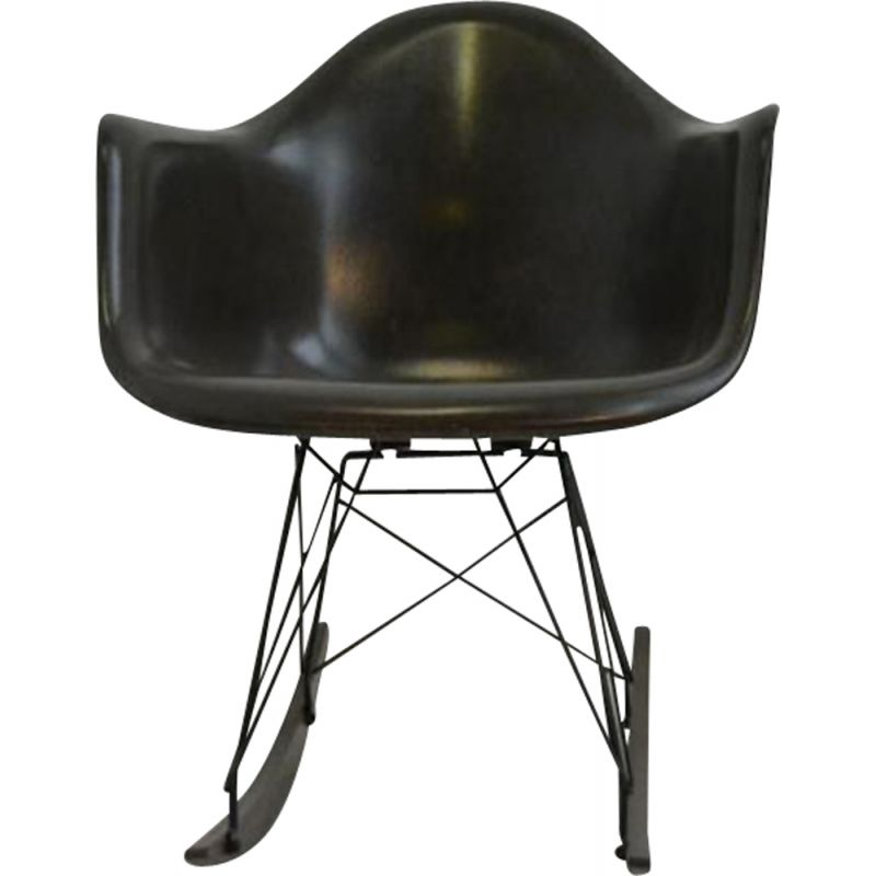 Vintage CHAIR RAR Rocking chair by Ray and Charles Eames