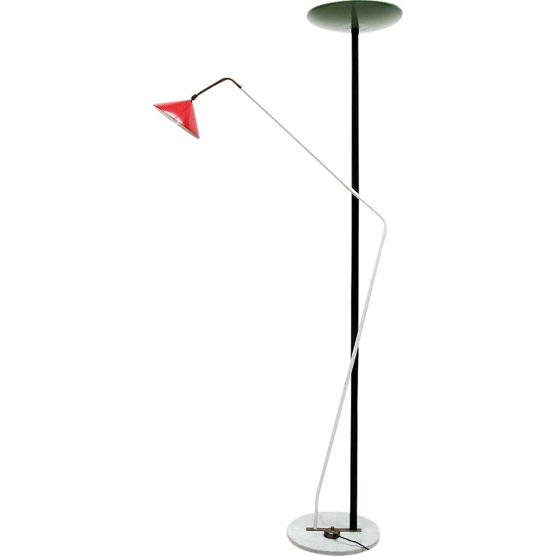 Vintage double floor lamp by Stilnovo, 1950s