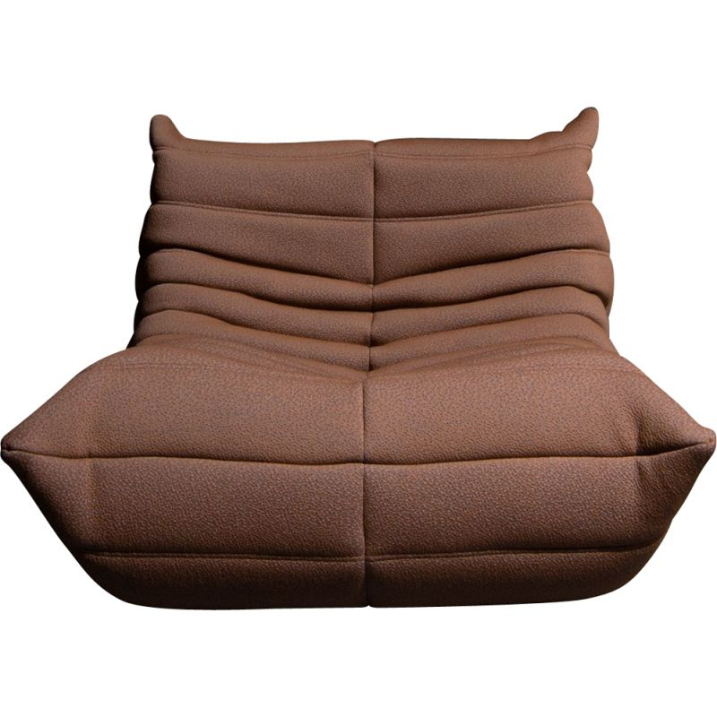 "Vintage ""Togo"" 1-seater sofa by Michel Ducaroy from Ligne Roset"