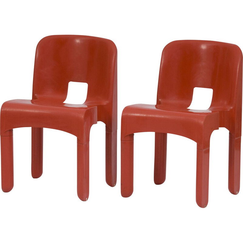 Vintage stackable chair by Joe Colombo for Kartell