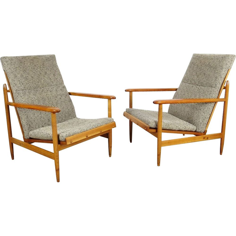 Pair of Vintage Armchairs produced by ULUV 1960