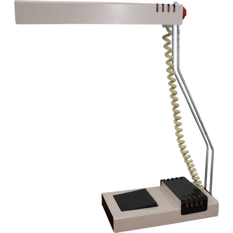 Vintage retro table lamp by Josef Mára from Tesla, 1990s