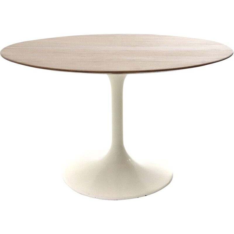 Vintage round top tulip dining table, Italy, 1960s