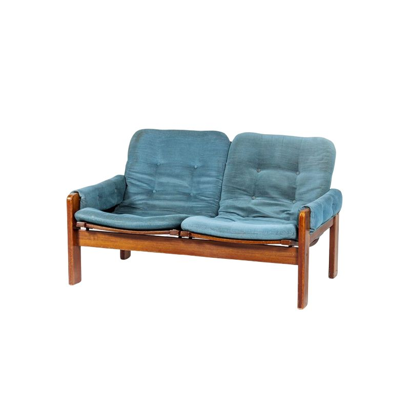 Vintage 2-seater sofa by Yngve Ekström for Pastoe & Swedese, 1960s