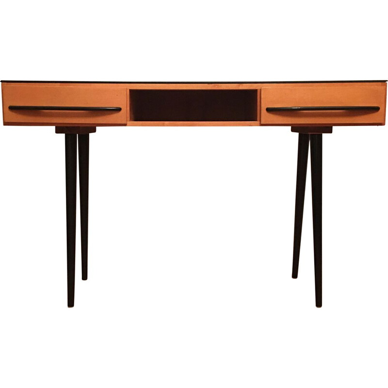 Vintage desk or dressing table by Mojmir Pozar for UP Zavody, 1960s