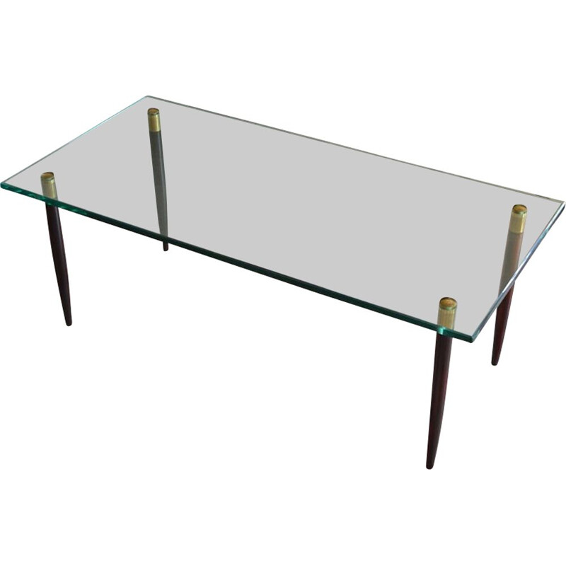 Vintage coffee table from Örebro Glasindustri, Sweden, 1960s