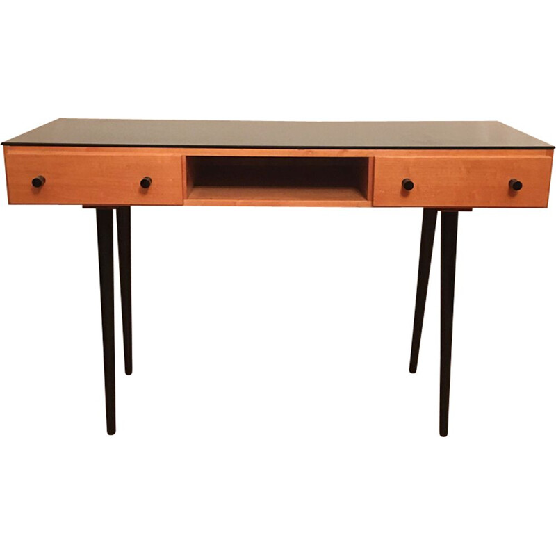 Vintage desk or dressing table by Mojmir Pozar for UP Zavody