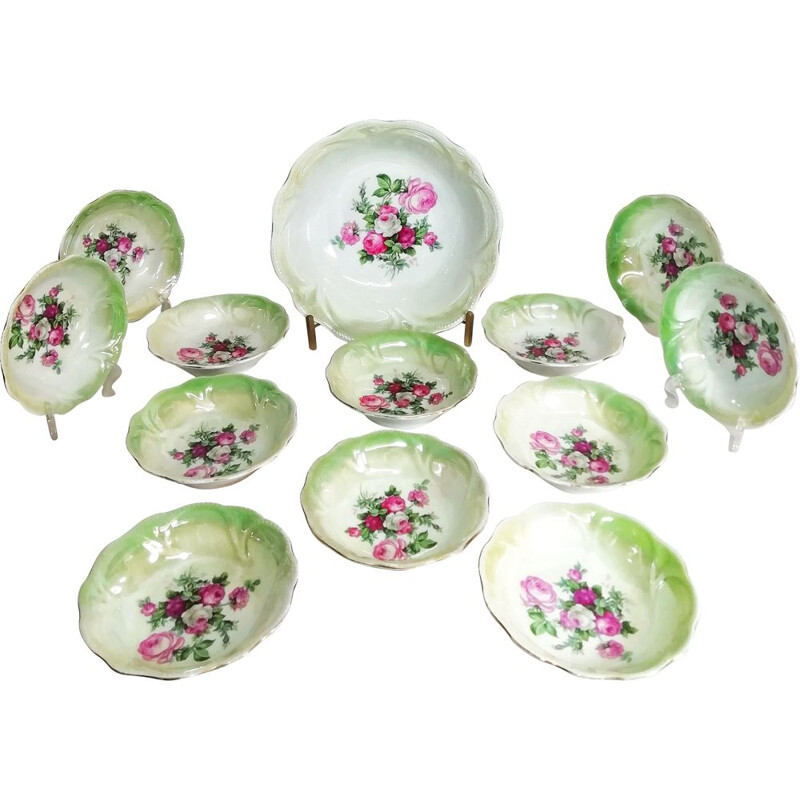 Vintage porcelain tableware