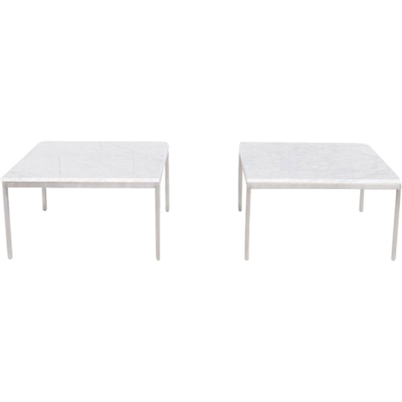 Pair of vintage coffee tables by Florence Knoll, Knoll International, 1960s