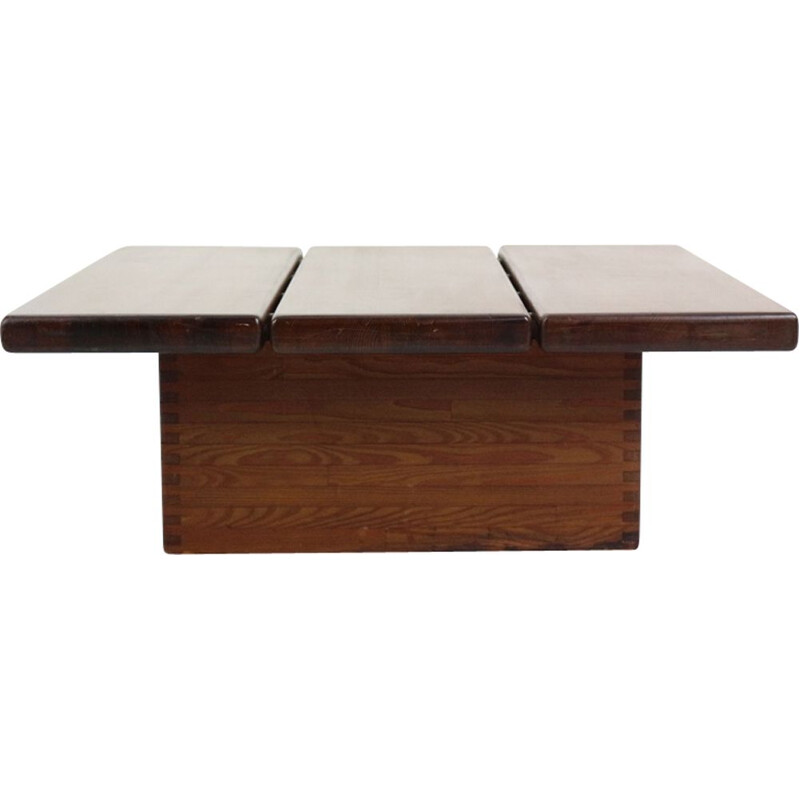 Vintage Coffee Table by Ilmari Tapiovaara Pirkka, Finland, 1955