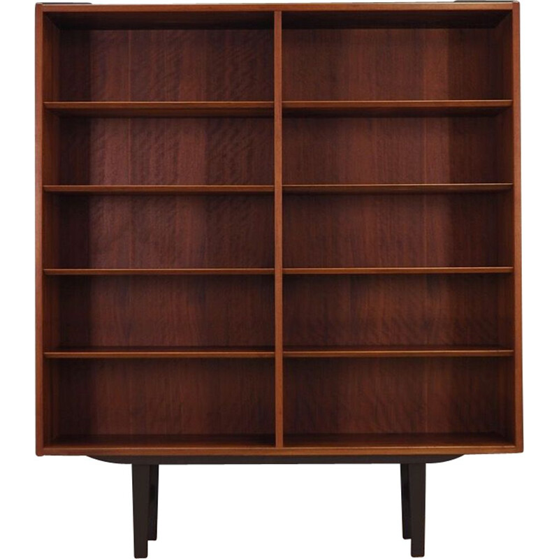 Vintage rosewood bookcase by Hundevad & Co, 1960-70s