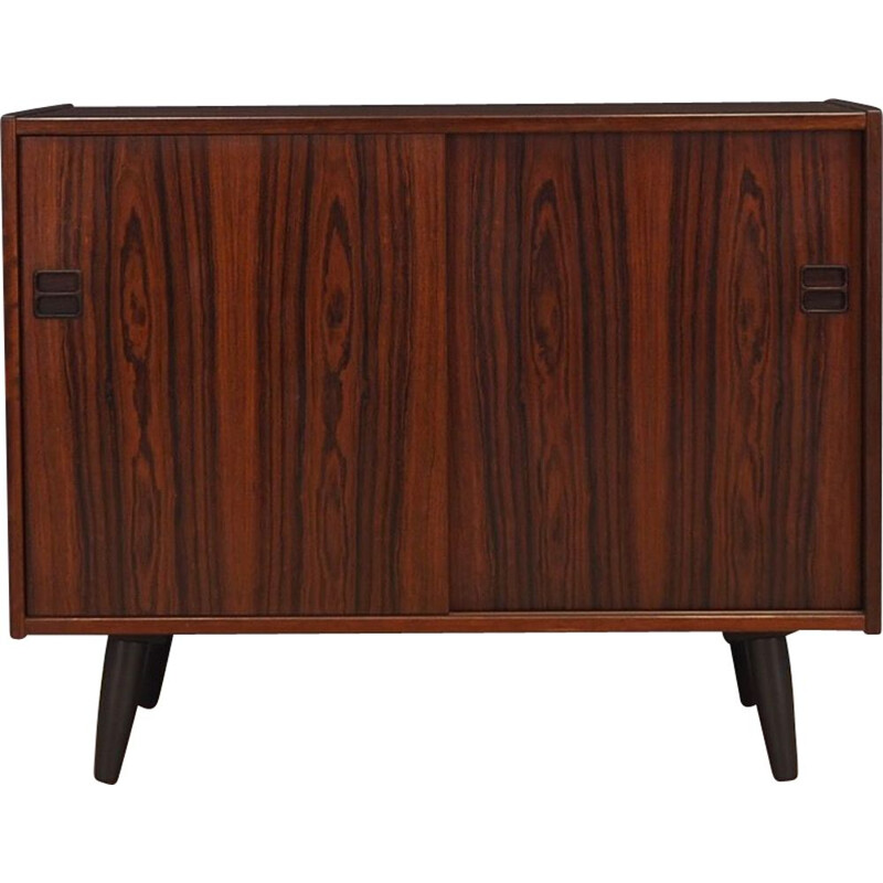 Vintage rosewood chest of drawers, Denmark, 1960-70s