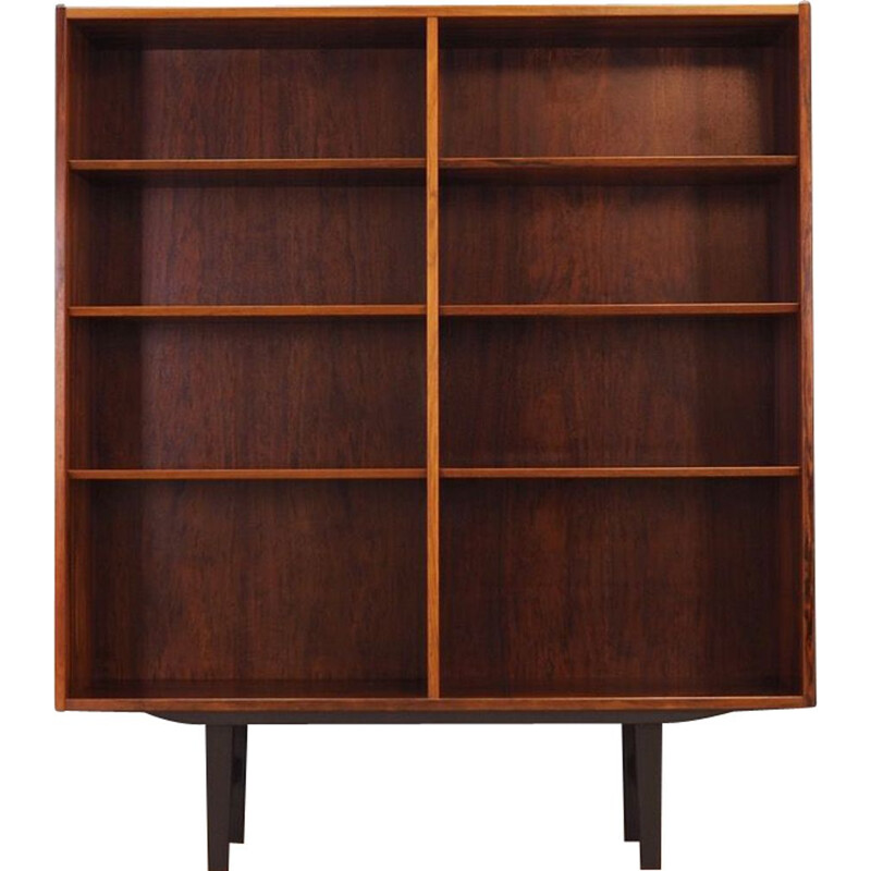 Vintage bookcase in rosewood by Hundevad & Co, Denmark, 1960-70s