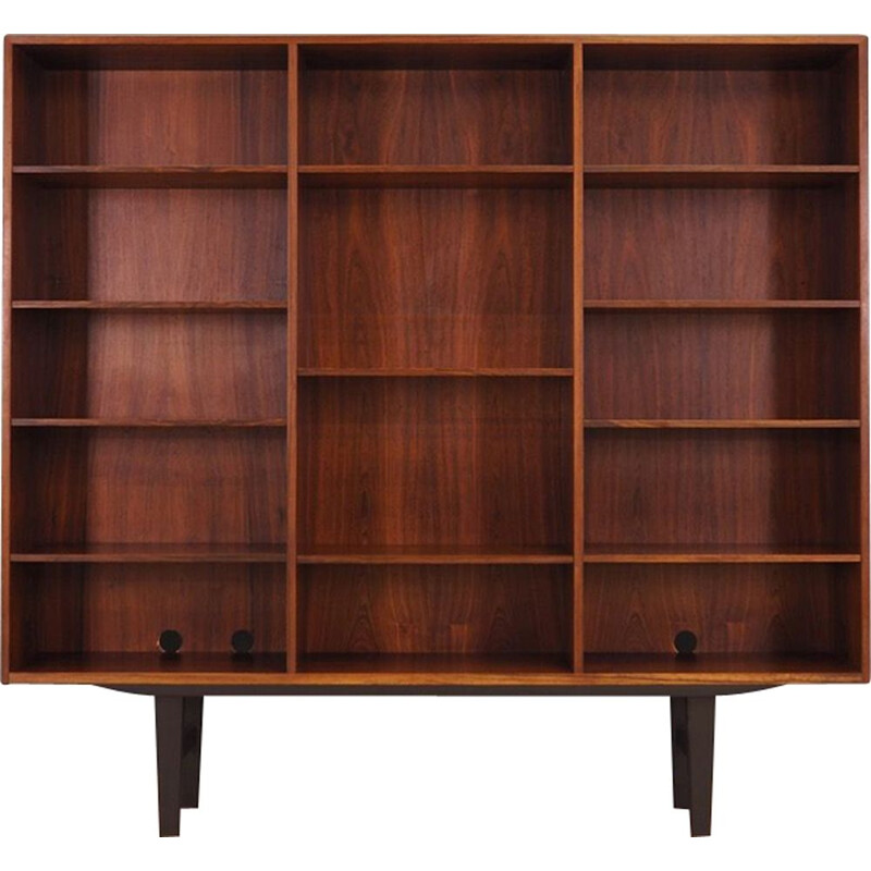 Vintage rosewood bookcase by Kai Winding, 1960-70s
