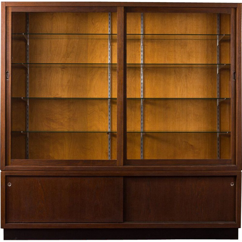 Vintage Bookcase in oak, 1950s