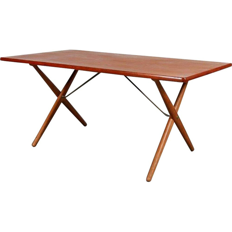 Vintage Dining Table by Hans J. Wegner for Andreas Tuck, Denmark, 1950