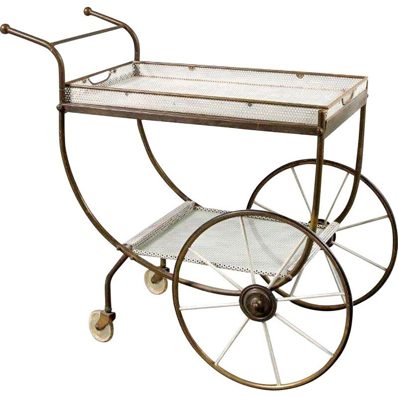 Vintage Tea Trolley by Svenskt Tenn, Sweden 1950