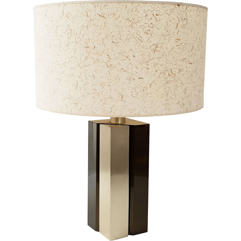 Vintage table lamp by Jalest in altuglas 1970
