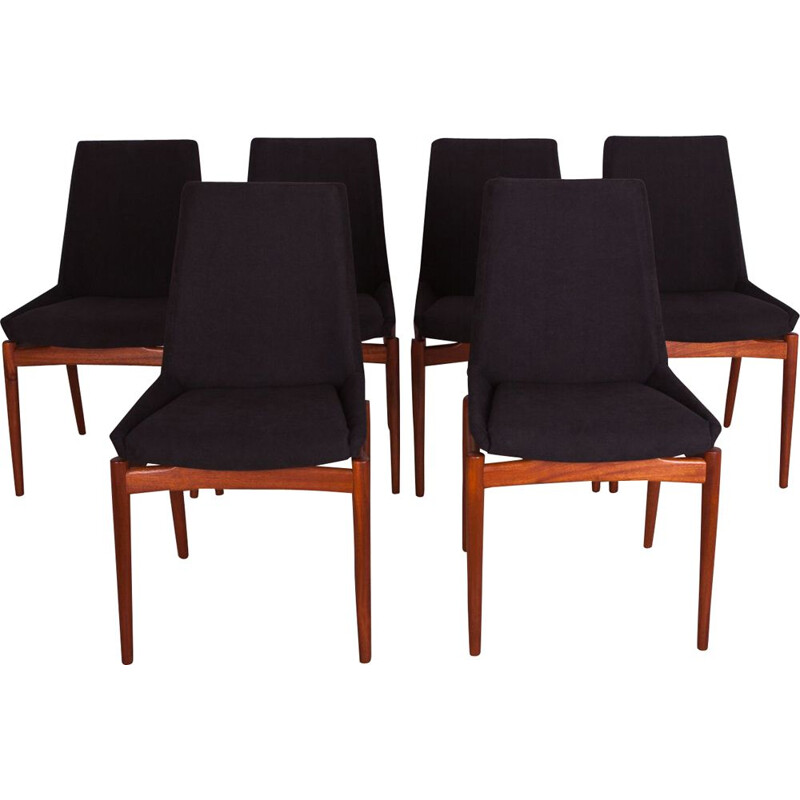 Set of 6 Vintage Hamilton Teak Dining Chairs by Robert Heritage for Archie Shine, 1960s