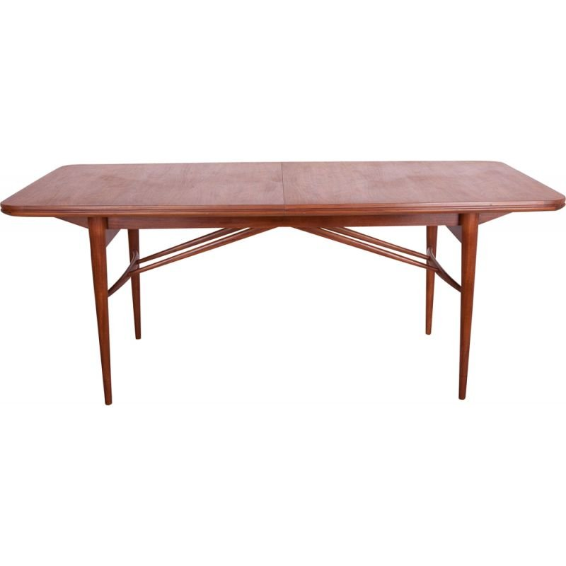 Vintage Teak Extendable Dining Table by Robert Heritage for Archie Shine, 1960s