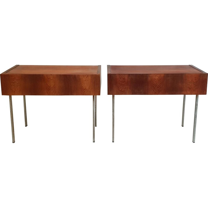 Pair of vintage bedsides, 1960