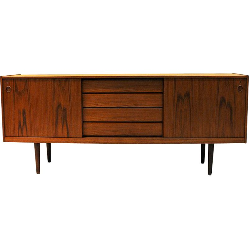 Vintage teak sideboard by Gustav Bahus, Norway, 1960