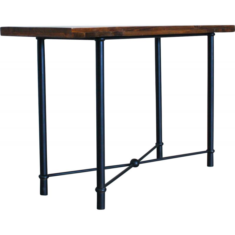 Industrial vintage Console Table, Portugal 1970s