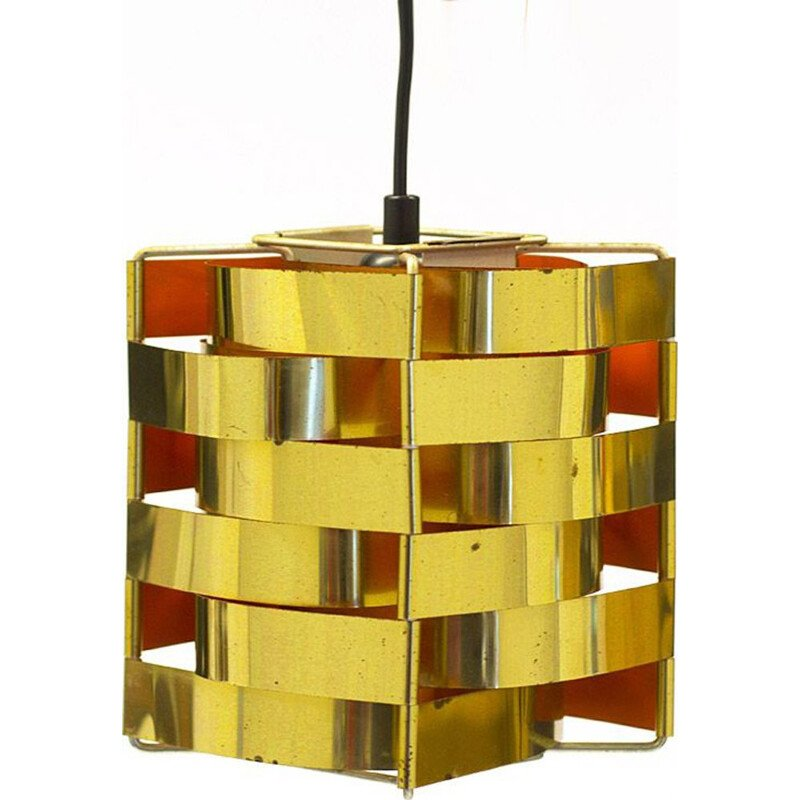 Vintage Mars hanging lamp by Max Sauze, France 1960