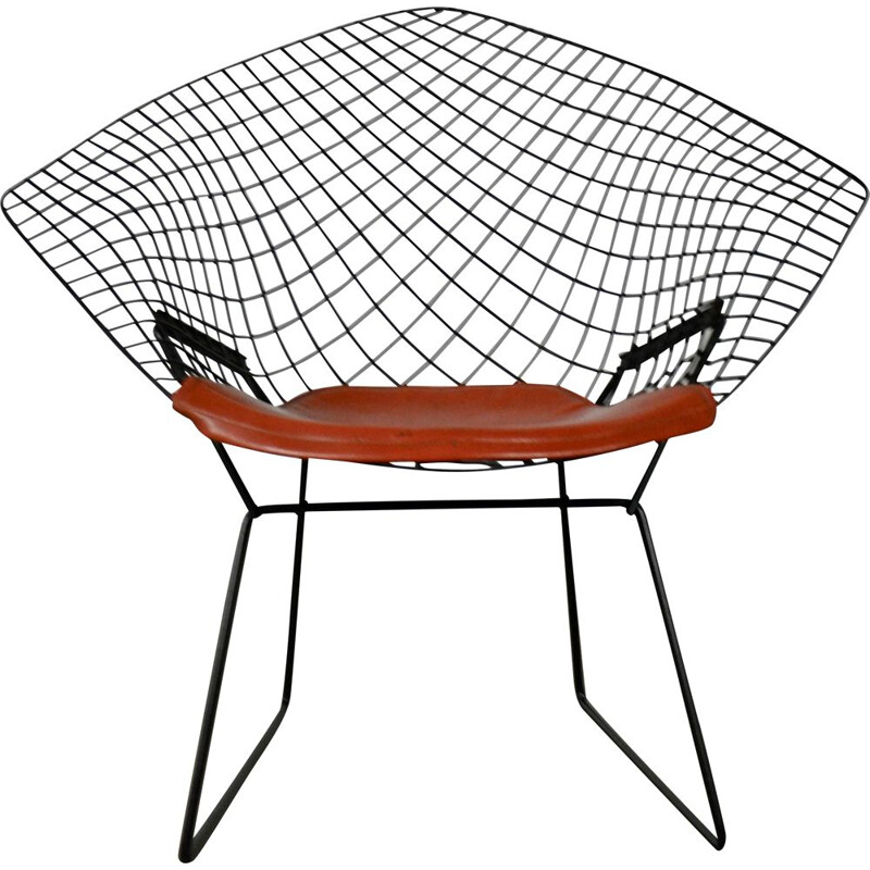 Vintage Diamond Chair by Harry Bertoia for Knoll, 1970