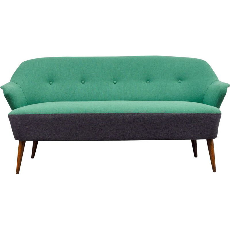 Vintage bi-coloured cocktail sofa, 1950