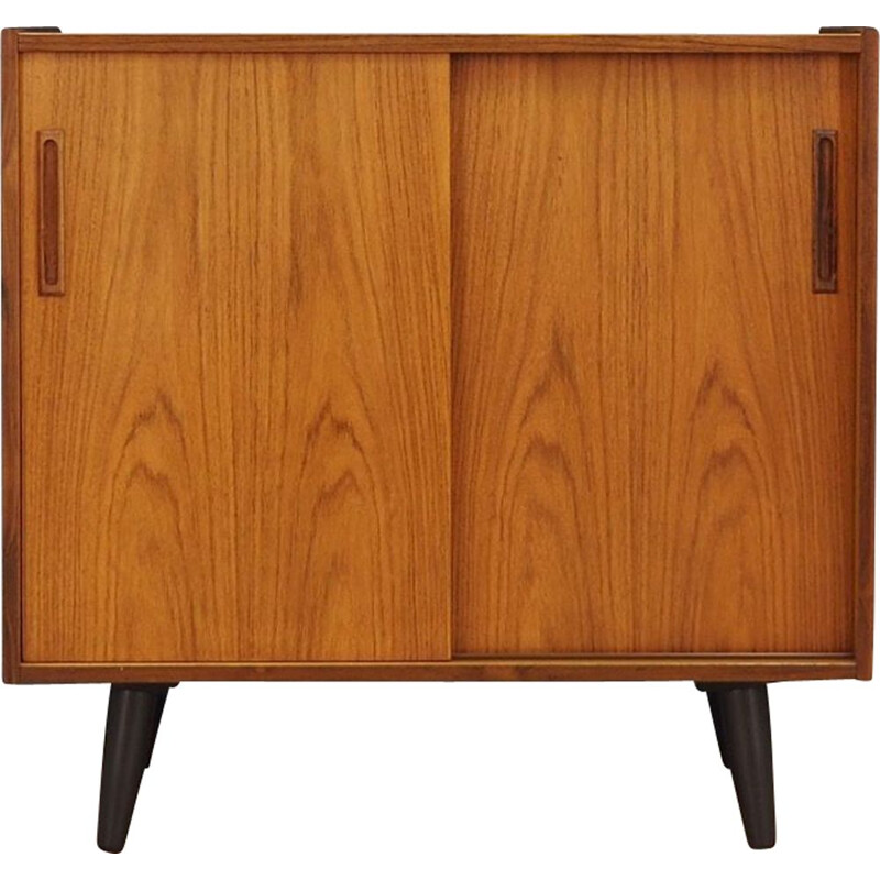 Vintage rosewood small sideboard, Denmark, 1960-70s