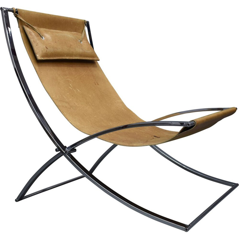 "Vintage ""Louisa"" lounge chair by Marcello Cuneo, Italy, 1970s"