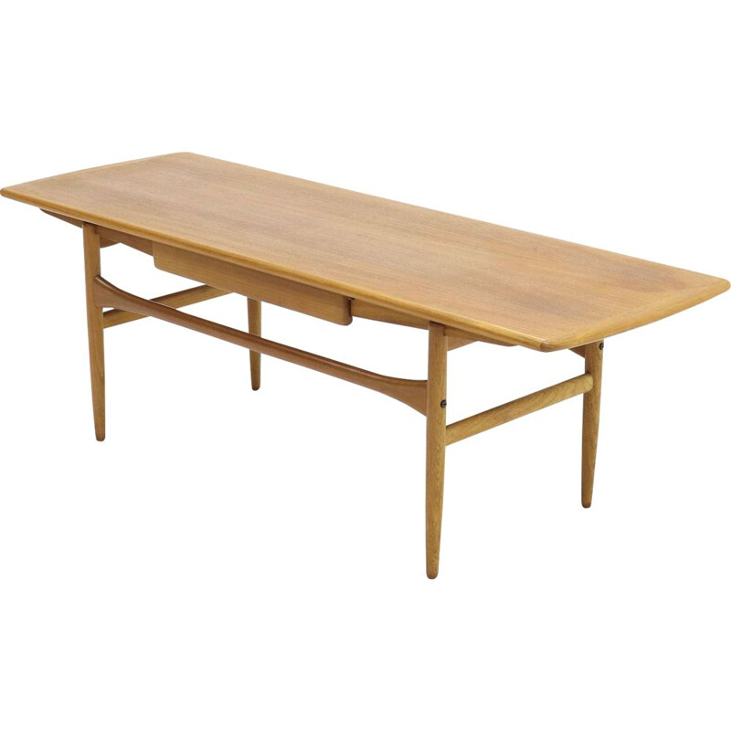 Vintage teak coffee table, Denmark, 1960s