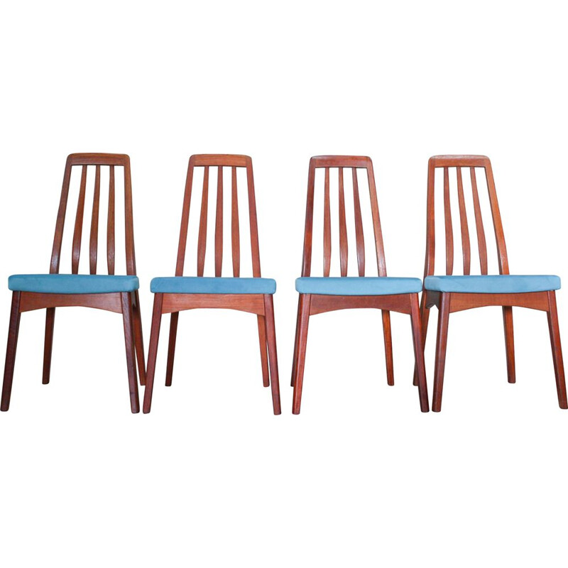 Set of 6 vintage dining chairs by Svegards, 1960
