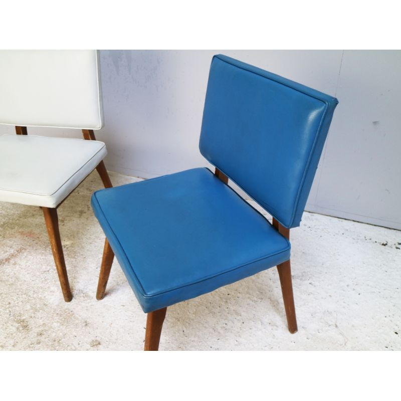 Phenomenal Pair Of Vintage Dining Chairs Czech Republic 1960 Alphanode Cool Chair Designs And Ideas Alphanodeonline
