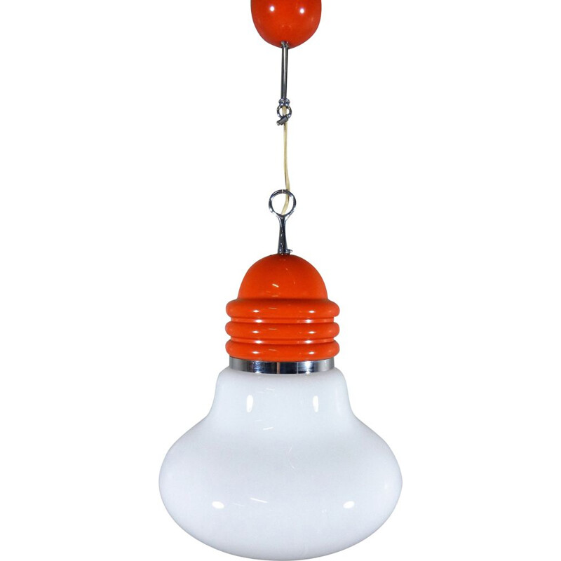 """Vintage """"Arianna"""" pendant lamp by Piero Brombin for Artemide, Italy, 1965s"""