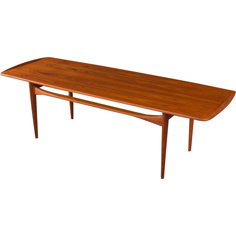 Vintage teak coffee table by France & Son 1950