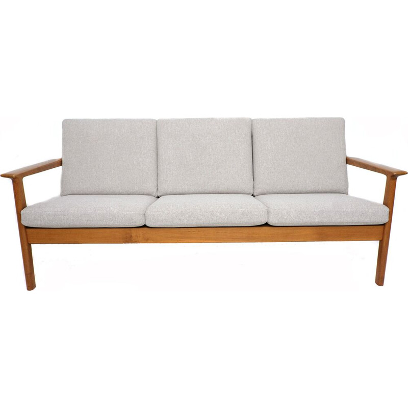 Vintage model GE-265 Teak Sofa by Hans J. Wegner for Getama 1970