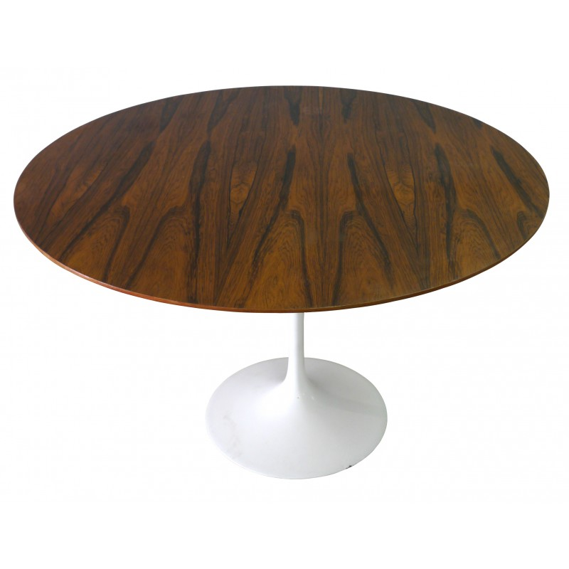 Rosewood Knoll Tulip Table Eero SAARINEN S Design Market - Original saarinen tulip table