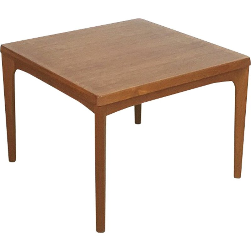 Vintage Scandinavian Velje Mobelfabrik side table in teak, Henning KJAERNULF - 1960s